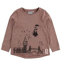 Wheat Disney Bluse - Mary Poppins Flying - Dusty Rouge