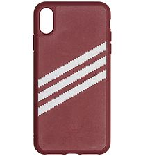 adidas Originals Cover - 3-Stripes - iPhone XS Max - Burgundy