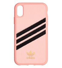 adidas Originals Cover - 3-Stripes - iPhone XS Max - Clear Pink