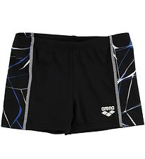 Arena Badeshorts - Water Jr - Sort m. Print