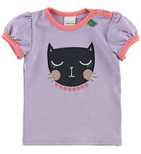 Freds World T-shirt - Lavendel m. Kat