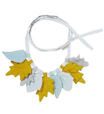 Cam Cam Flagranke - Leaves - 220 cm - Mix Mustard