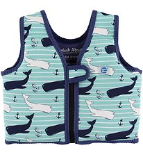 Splash About Badevest - Go Splash Swim - UV50+ - Vintage Moby