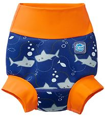 Splash About Blebadebukser - Happy Nappy - Shark Orange