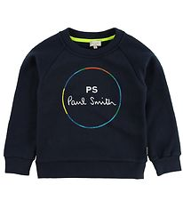 Paul Smith Junior Sweatshirt - Vicken - Navy m. Print