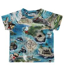 Molo T-shirt - Emmett - Treasure Map