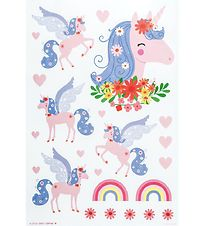 A Little Lovely Company Wallstickers - 35x50 cm - Unicorn