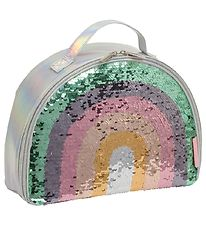 A Little Lovely Company Køletaske - Rainbow Sequin
