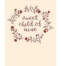 A Little Lovely Company Plakat - 50x70 cm - Sweet child