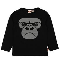 DYR T-shirt - Roar - Sort m. Gorilla