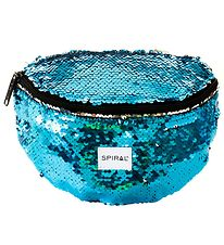 Spiral Bæltetaske - Harvard - Mermaid Blue Sequins