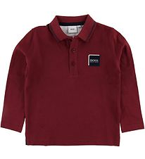 BOSS Polo - Crimson m. Logo
