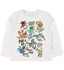 Stella McCartney Kids Bluse - Hvid m. Drager