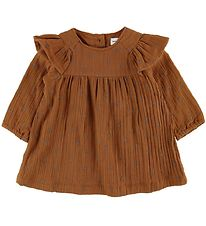 Mini A Ture Kjole - Ammalie - Leather Brown