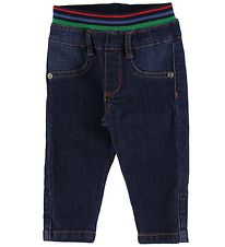 Paul Smith Baby Bukser - Vlas - Mørkeblå Denim