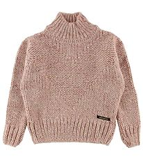 Finger In The Nose Sweater - Strik - Vanity - Heather Pink