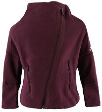 adidas Performance Cardigan - YG ID HTR - Bordeaux