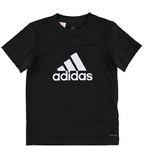 adidas Performance T-shirt - Equip - Sort m. Logo