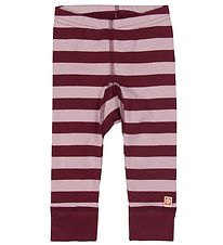 Katvig Leggings - Bordeaux/Rosa
