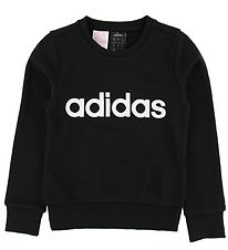 adidas Performance Sweatshirt - Lin - Sort m. Logo