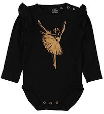 Petit By Sofie Schnoor Body l/æ - Dicte - Sort m. Ballerina
