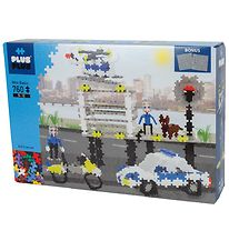 Plus-Plus Mini - 760stk - Basic - Police