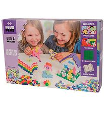 Plus-Plus Mini - 600stk - Pastel/Neon - Learn to Build