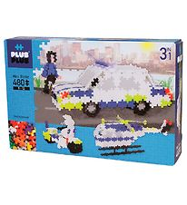 Plus-Plus Mini - 3 i 1 - 480stk - Basic - Police