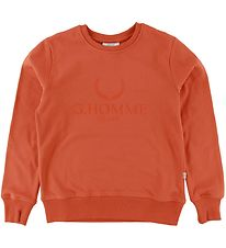 Grunt Sweatshirt - Nuud Sweat - Orange