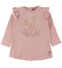 Wheat Disney Sweatkjole - Bambi - Misty Rose