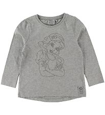Wheat Disney Bluse - Snow White - Melange Grey