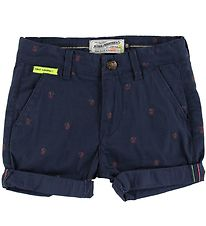 Petrol Industries Shorts - Deep Capri m. Palmer