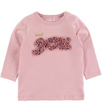 Name It Bluse - NbfFlavia - Pink Nectar m. Blomster