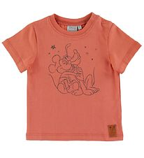 Wheat Disney T-shirt - Big Friend Hug - Wood