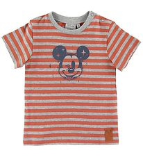 Wheat Disney T-shirt - Mickey Wink - Wood
