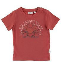 Wheat T-shirt - Crab - Wood