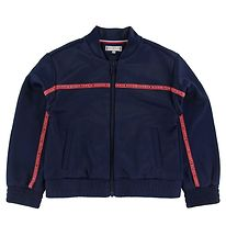Tommy Hilfiger Cardigan - Tape Track - Navy