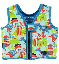 Splash About Badevest - Go Splash Swim - UV50+ - Dino Pirates