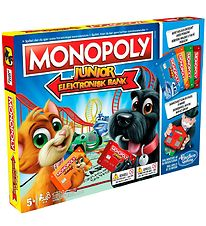 Hasbro Brætspil - Monopoly Junior - Elektronisk Bank