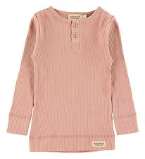 MarMar Bluse - Rib - Light Cheek