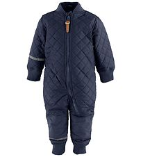 CelaVi Termodragt m. Fleece - Coated - Navy