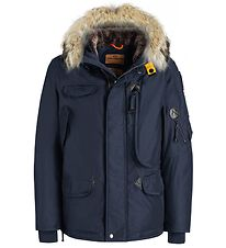 Parajumpers Dunjakke - Right Hand - Navy m. Pelskant