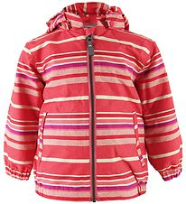Color Kids Windbreaker - Torke - Stribet Koral