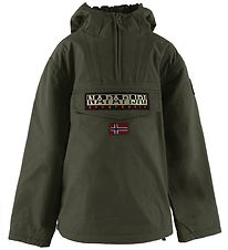 Napapijri Vinterjakke - Rainforest Anorak - Green Forest