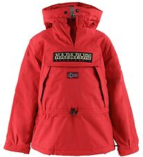 Napapijri Vinterjakke - Skidoo - Anorak - High Risk Red