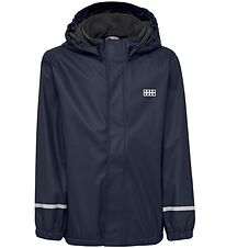 Lego Wear Regnjakke m. Fleece - PU - Jordan - Navy