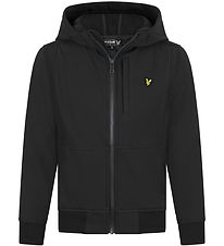Lyle & Scott Junior Softshelljakke - Sort