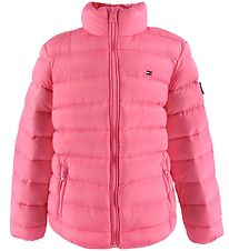 Tommy Hilfiger Dunjakke - U Light Down - Rosa