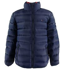 Tommy Hilfiger Dunakke - U Light Down - Navy