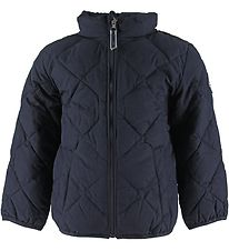 GANT Dynejakke - Light Weight Diamond Puffer - Navy